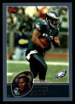 2003 Topps #183  Duce Staley  Front Thumbnail