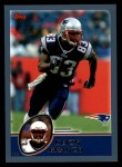 2003 Topps #154  Deion Branch  Front Thumbnail