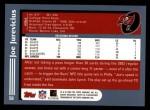 2003 Topps #58  Joe Jurevicius  Back Thumbnail