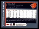 2003 Topps #42  Kordell Stewart  Back Thumbnail