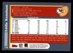 2003 Topps #110  Eddie Kennison  Back Thumbnail