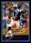 2003 Topps #309   -  Steve McNair Weekly Wrap-Up Front Thumbnail