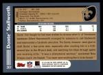 2003 Topps #267  Donte Stallworth  Back Thumbnail