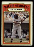 1972 Topps #438   -  Maury Wills In Action Front Thumbnail