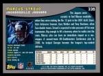 2001 Topps #336  Markus Stroud  Back Thumbnail