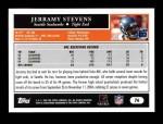 2005 Topps #76  Jerramy Stevens  Back Thumbnail
