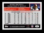 2005 Topps #88  Mark Brunell  Back Thumbnail