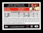 2005 Topps #104  Marc Boerigter  Back Thumbnail