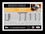 2005 Topps #232  Brandon Stokley  Back Thumbnail