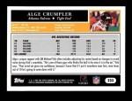 2005 Topps #233  Alge Crumpler  Back Thumbnail