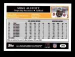 2005 Topps #294  Mike Alstott  Back Thumbnail