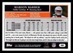 2005 Topps #385  Marion Barber  Back Thumbnail