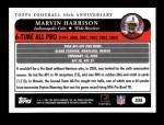 2005 Topps #335   -  Marvin Harrison All-Pro Back Thumbnail