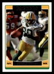 2006 Topps #103  Donald Driver  Front Thumbnail