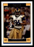 2006 Topps #114  Torry Holt  Front Thumbnail