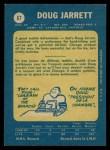 1969 O-Pee-Chee #67  Doug Jarrett  Back Thumbnail