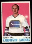 1970 Topps #118  Murray Hall  Front Thumbnail