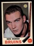 1969 O-Pee-Chee #27  Ken Hodge  Front Thumbnail