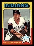 1975 Topps Mini #530  Gaylord Perry  Front Thumbnail