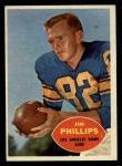 1960 Topps #66  Jim Phillips  Front Thumbnail