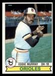 1979 Topps #640  Eddie Murray  Front Thumbnail