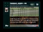 2007 Topps #58  Thomas Jones  Back Thumbnail