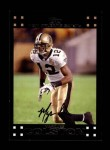 2007 Topps #164  Marques Colston  Front Thumbnail