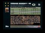 2007 Topps #70  Vernand Morency  Back Thumbnail