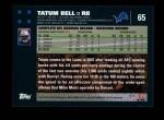 2007 Topps #65  Tatum Bell  Back Thumbnail