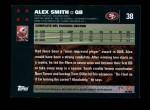 2007 Topps #38  Alex Smith  Back Thumbnail