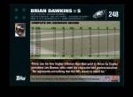 2007 Topps #248  Brian Dawkins  Back Thumbnail