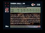 2007 Topps #258  Tamba Hali  Back Thumbnail