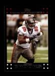 2007 Topps #282  Derrick Brooks  Front Thumbnail