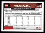 2008 Topps #134  Ike Hilliard  Back Thumbnail