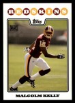 2008 Topps #364  Malcolm Kelly  Front Thumbnail