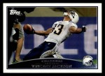 2009 Topps #186  Vincent Jackson  Front Thumbnail