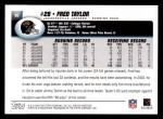 2004 Topps #90  Fred Taylor  Back Thumbnail