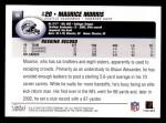 2004 Topps #86  Maurice Morris  Back Thumbnail