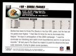 2004 Topps #17  Bubba Franks  Back Thumbnail