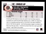 2004 Topps #12  Charles Lee  Back Thumbnail