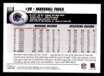 2004 Topps #170  Marshall Faulk  Back Thumbnail