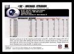 2004 Topps #141  Michael Strahan  Back Thumbnail