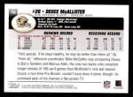 2004 Topps #180  Deuce McAllister  Back Thumbnail