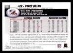 2004 Topps #226  Corey Dillon  Back Thumbnail