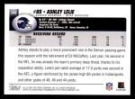 2004 Topps #244  Ashley Lelie  Back Thumbnail