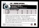 2004 Topps #257  Freddie Mitchell  Back Thumbnail