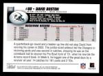 2004 Topps #265  David Boston  Back Thumbnail