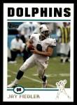 2004 Topps #233  Jay Fiedler  Front Thumbnail