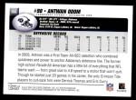 2004 Topps #366  Antwan Odom  Back Thumbnail