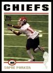 2004 Topps #378  Samie Parker  Front Thumbnail